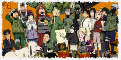 Staff - Saga La cumbre de los cinco kages